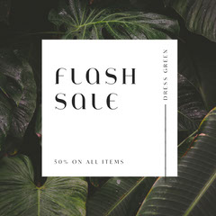 Flash Sale Instagram Square Sale Flyer