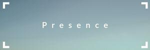 Blue and White Presence Banner Intestazione per Twitter