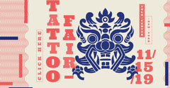 Tattoo Fair Instagram Landscape Tattoo Flyer