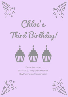 Third Birthday! Birthday