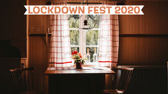 Orange & Shadows Kitchen Table Scene Zoom Background Sweet Home
