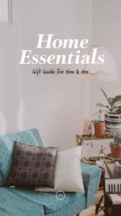Home Essentials Gift Guide IG Story Decor