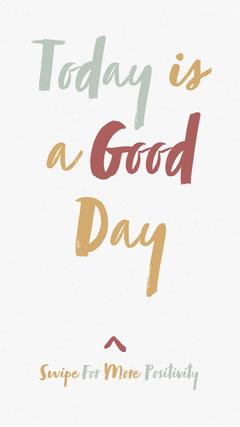 Warm Tones Typographic Positive Optimistic Phrase Instagram Story Positive Thought