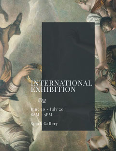 INTERNATIONAL<BR>EXHIBITION Art Exhibition