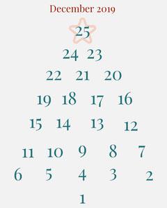 Christmas Advent Calendar Winter