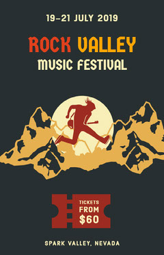 Rock Valley Music Festival Poster