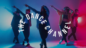 Colourful Dance Youtube Channel Art Banner per YouTube