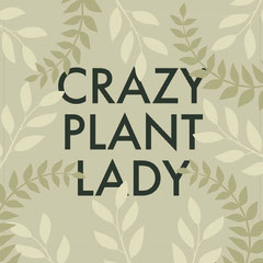crazy plant lady Instagram post  Plants