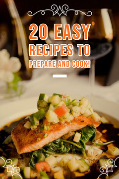 20 easy recipes to prepare and cook! Food