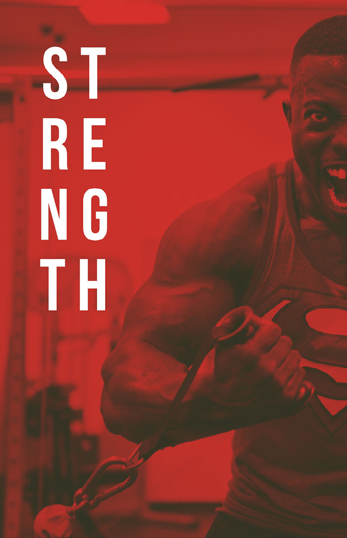 Red, Black and White Workout Catchphrase Instagram Story Idées d'affiche