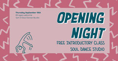 Pink Soul Dance Opening Night Facebook  Launch