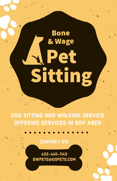 Pet Sitting  Dog