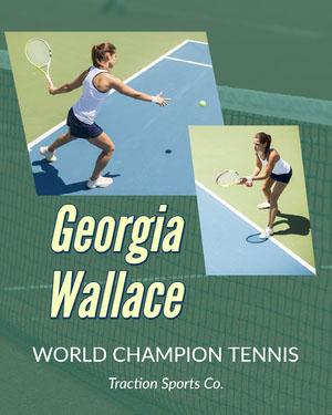 Green Tennis Champion Sports Collage Instagram Portrait Sports Collage