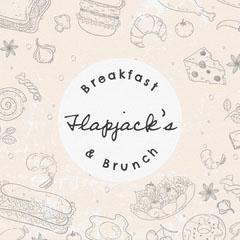 Cream and Grey Rustic Restaurant Instagram Square Breakfast