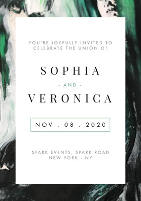 VERONICA Save the date-kaart