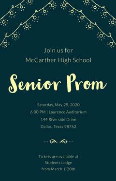 Senior Prom  Education