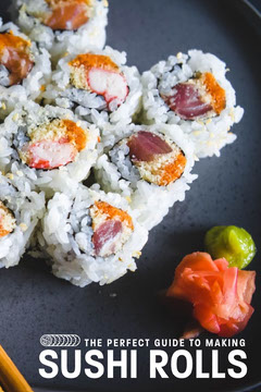 Sushi roll Guide Pinterest Fish