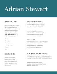 Adrian Stewart High School Resumes