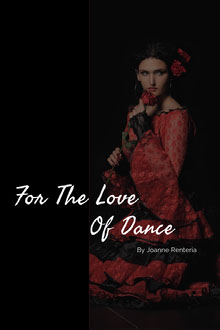 Black and Red For The Love Of Dance Book Cover Book Cover