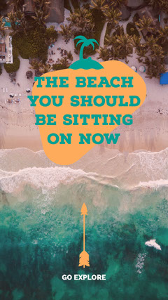 THE BEACH YOU SHOULD BE SITTING ON NOW Adventure