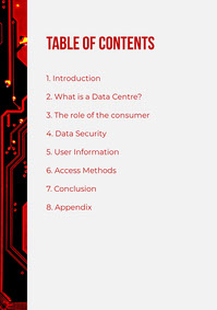 Red Data Centre Whitepaper Contents A4 백서 템