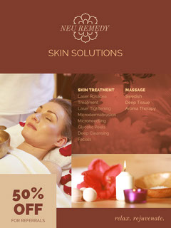 Claret Skin Solutions Promotion Spa