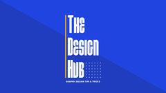 Blue Modern Style Graphic Design Blog Banner Crafts