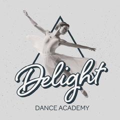 Grey Triangle Dancer Instagram Square Dance Flyer