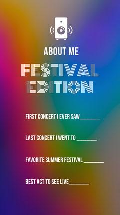 FESTIVAL EDITION<BR> Quiz Night Poster