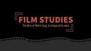 Black Film Strip Icon Presentation Cover Presentation