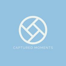 blue minimal photography logo Logo