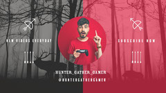 Red Forest Hunter gamer Youtube Stream