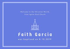 Faith Garcia Baptism
