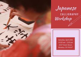 Japanese  Cartolina