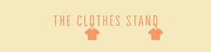 Yellow and Orange The Clothes Stand Banner Etsy Banner