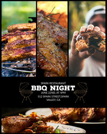 BBQ NIGHT BBQ Menu