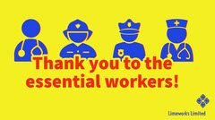essential workers twitter banner   Thank You Poster