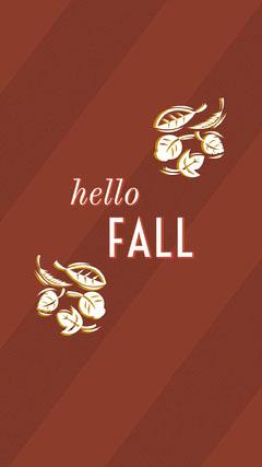 fall season Instagram story  Hello