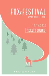 FOX FESTIVAL Affiche