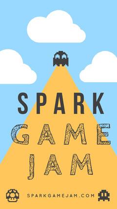 SPARK GAME JAM Instagram Story