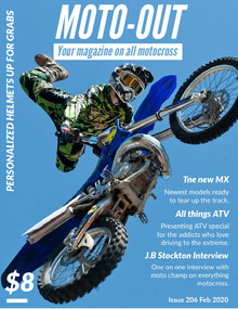 MOTO-OUT Magazine Cover