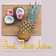 Pink Fresh Fruit Juice Recipe Instagram Square Juice