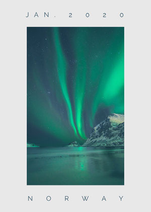 Norway Postcard Cartolina di viaggio
