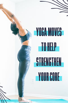 Blue & White Yoga Pose Pinterest Post Workout