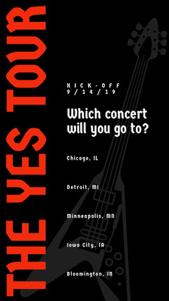 THE YES TOUR Music Tour