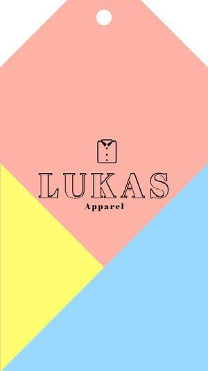 Lukas Apparel Clothing Tag Label