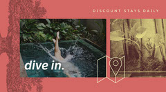Pink, Light Toned Travel Agency Ad Twitter Cover Agency