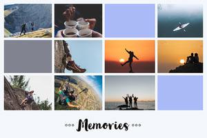 Memories Photo Collage Photo Grid