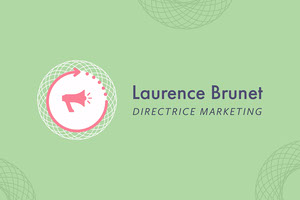 Green Marketing Director Name Tag Marque-place