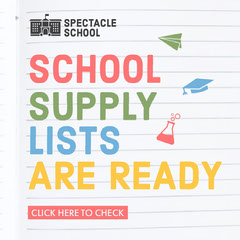 School Supply List Instagram Square Back to School